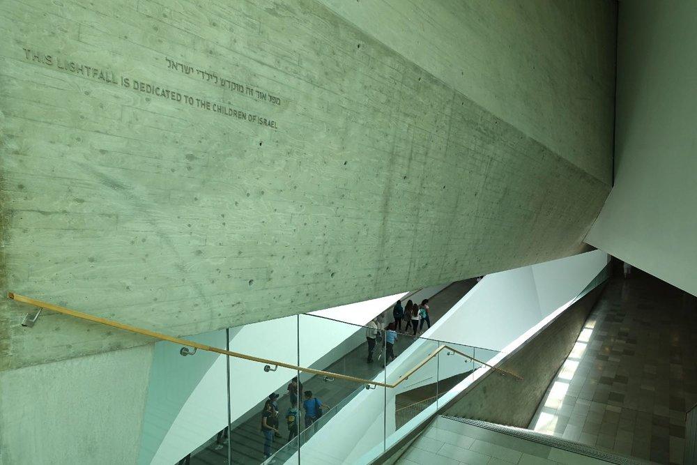 Tel Aviv Museum of Art | Inside | Tel Aviv | Preston Scott Cohen architect | photo sandrine cohen