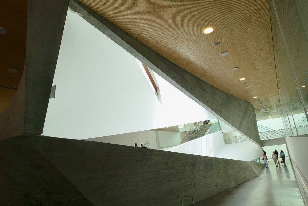 Tel Aviv Museum of Art | perspective | Tel Aviv | Preston Scott Cohen architect | photo sandrine cohen