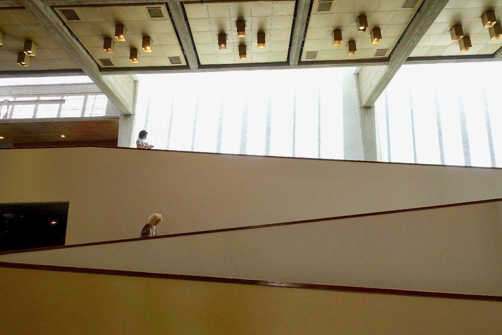 Tel Aviv Museum of Art | Graphic | Tel Aviv | Preston Scott Cohen architect | photo sandrine cohen