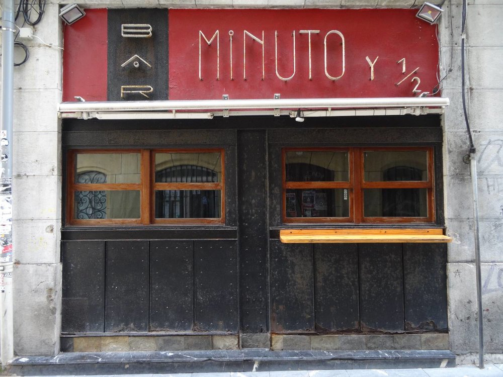 San Sebastian | San Sebastien | Donostia | Minuto bar  | photo sandrine cohen