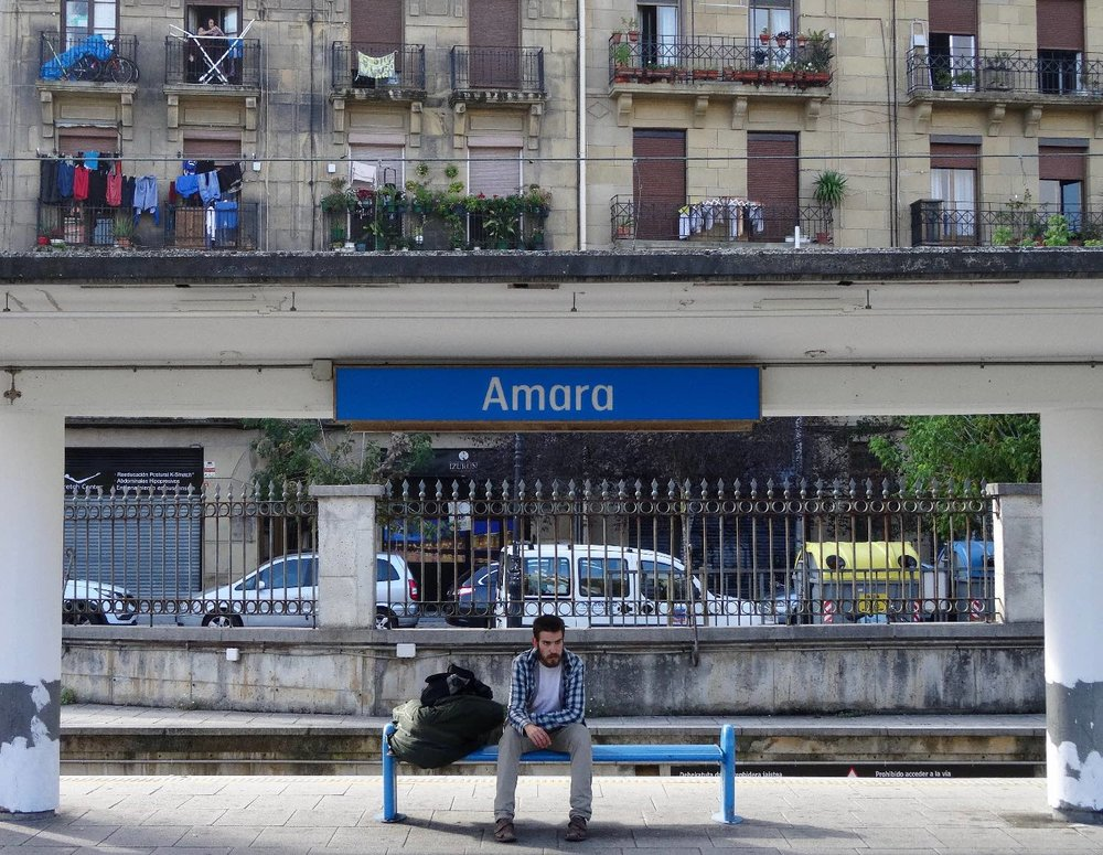 San Sebastien | San Sebastian | Donostia | Amara station | photo sandrine cohen