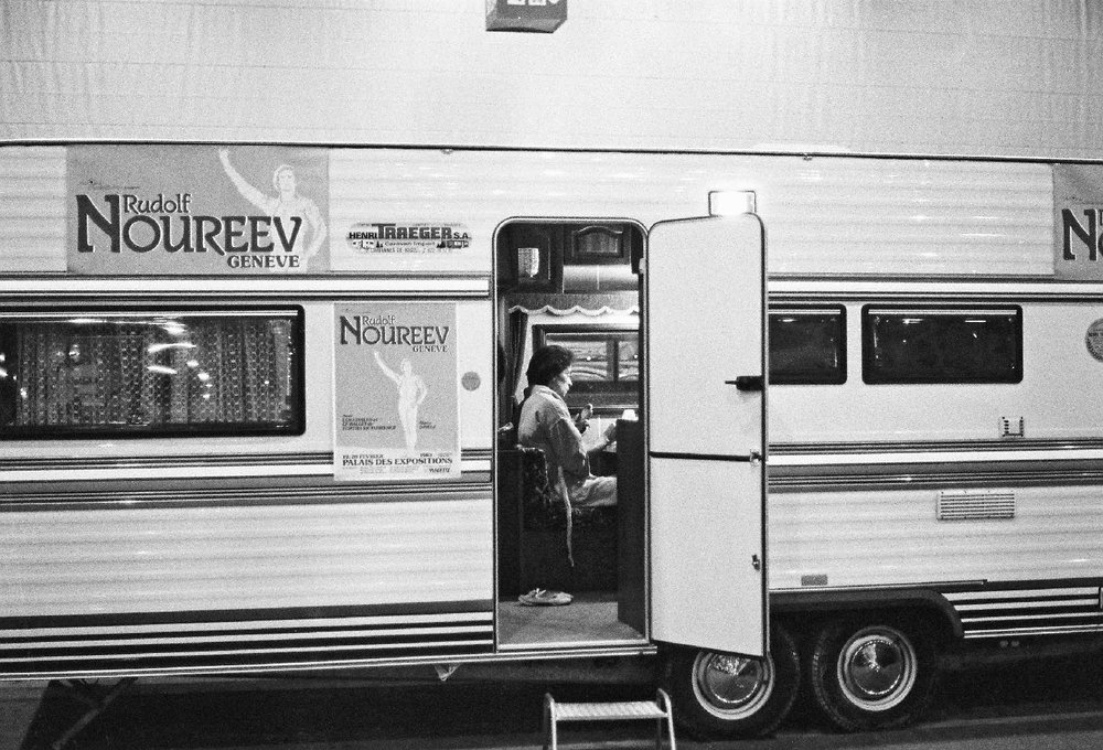 Rudolph Noureev | Geneve | 1982 | Photo sandrine cohen