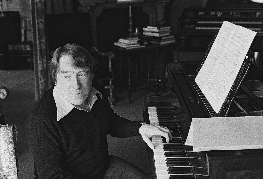 Georges Delerue | Film Music Composer | Jules et Jim | Le Mepris | La Nuit Américaine | Godard | Truffaut | 1978 | Photo sandrine cohen