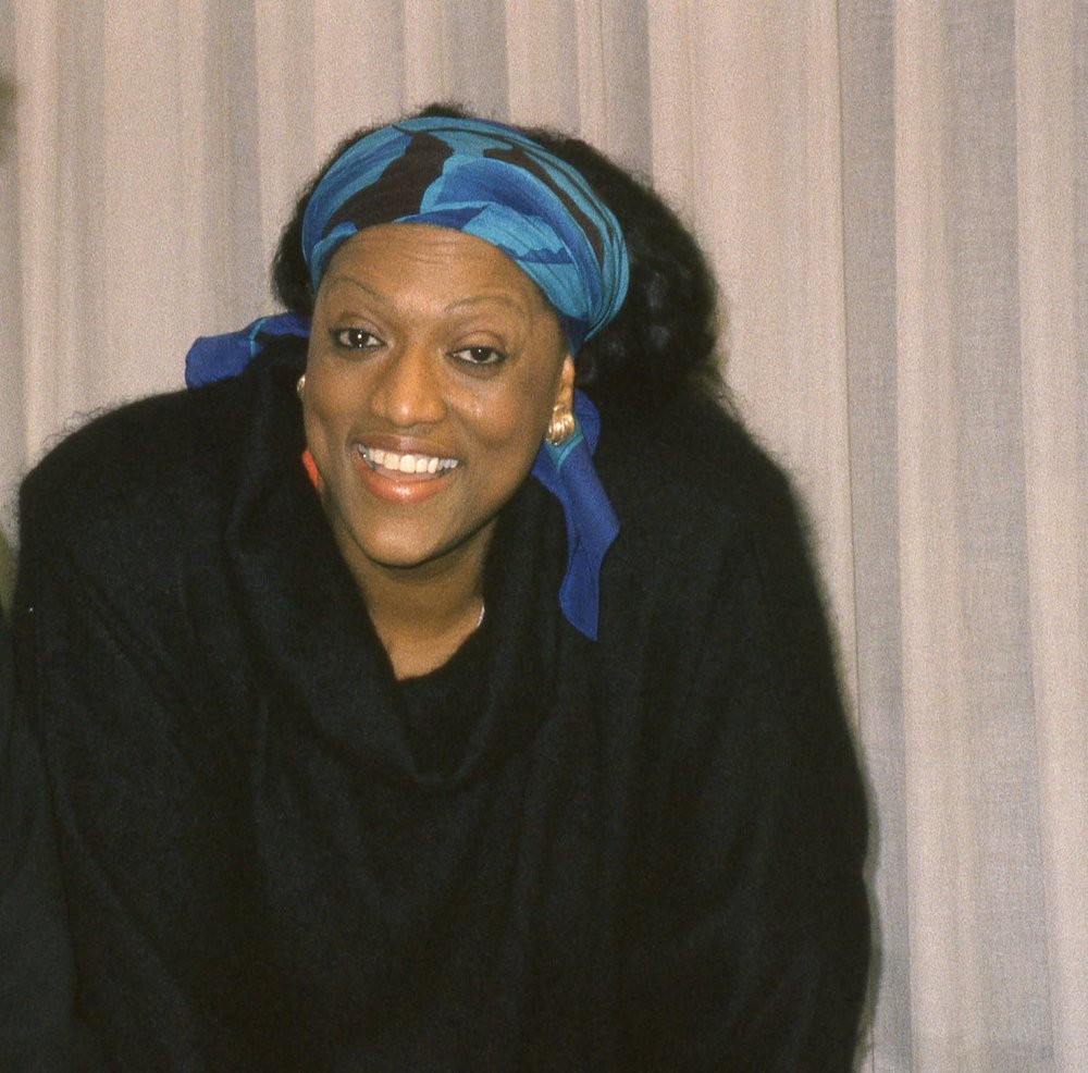 Jessye Norman | Berlin 8 december 1989 | Philharmonie de Berlin | Photo Sandrine cohen