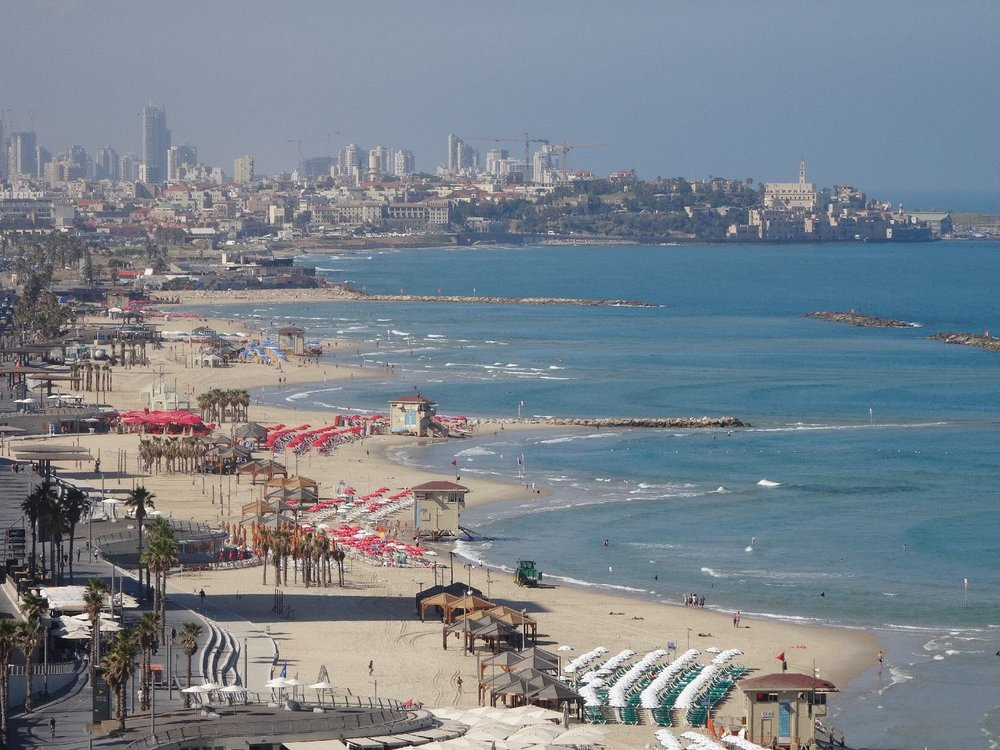 Tel-Aviv | Seafront with Jaffa in the distance 2 | photo sandrine cohen