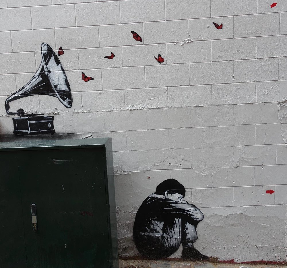 Jef Aerosol |De la musique avant tout |Rue Haute |Bruxelles |©sandrine cohen