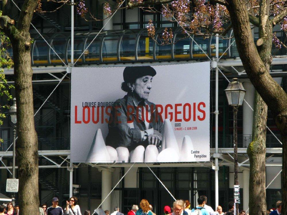 Louise Bourgeois exhibition | Centre Pompidou Paris | photo sandrine cohen