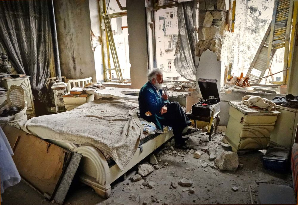 Joseph Eid photojournalist | Aleppo | War in Syria | AFP agency | Monsieur Anis | photo de la photosandrine cohen