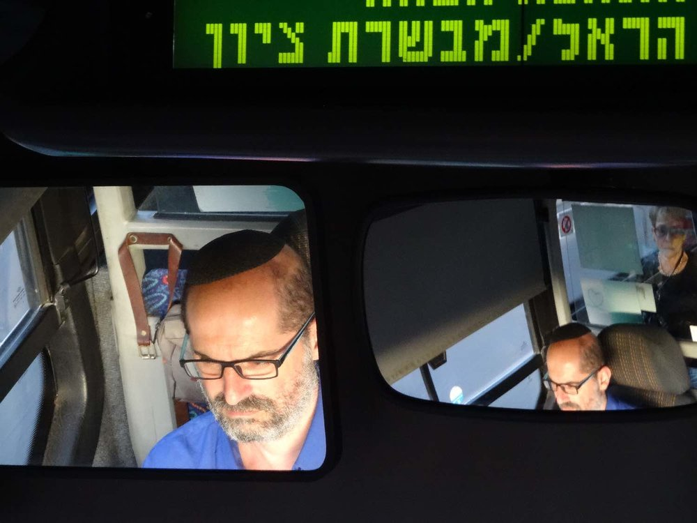 Jerusalem | Jewish bus | Jew driver | photo sandrine cohen