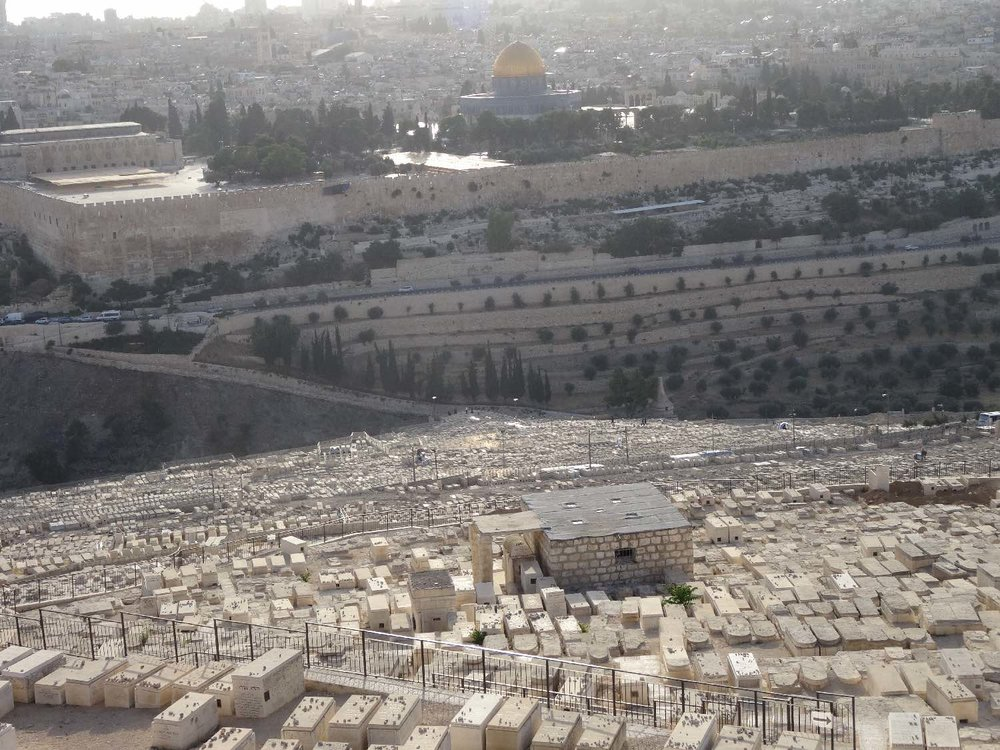 Jerusalem old city | Dome of the Rock | Jewish cemetery on the Mount of Olives | photo sandrine cohen