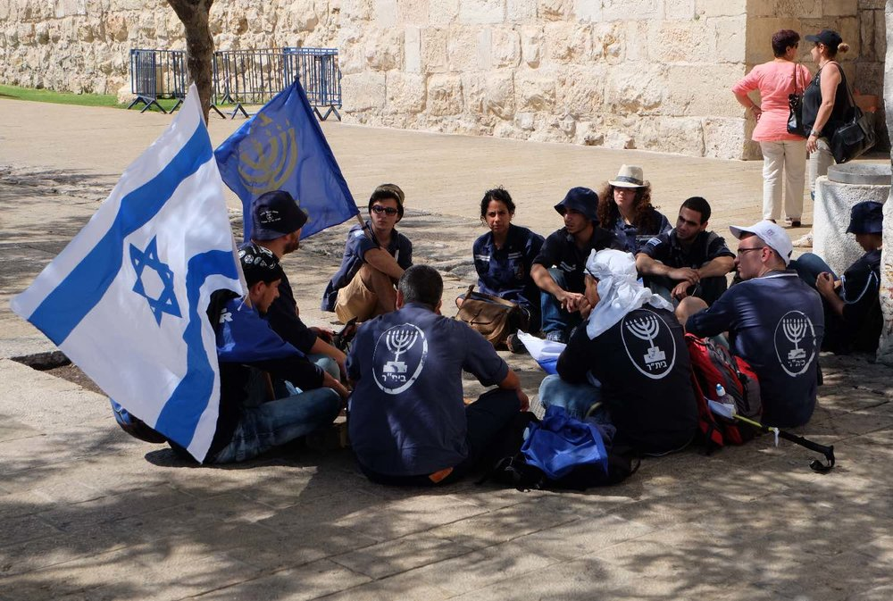 Jerusalem olf city | Young jews with israelian flat | photo sandrine cohen