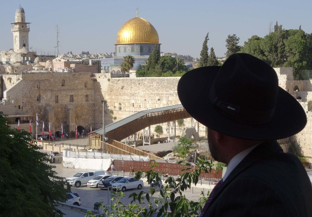 Jerusalem old city | Dome of the Rock | The wailing wall | photo sandrine cohen
