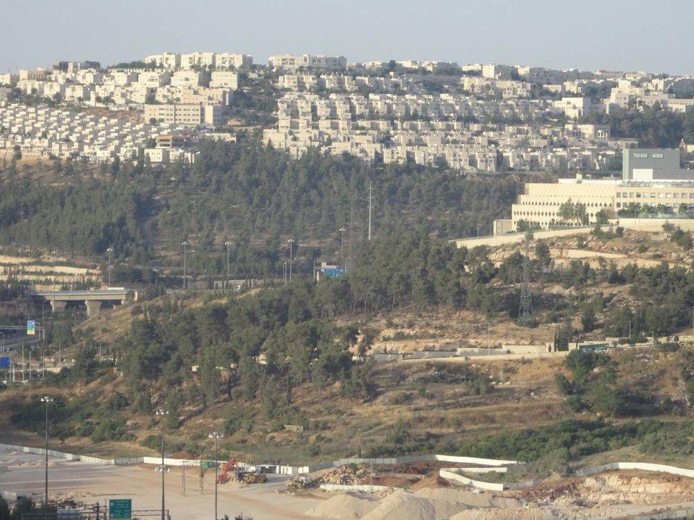 Jerusalem | Colony construction | photo sandrine cohen