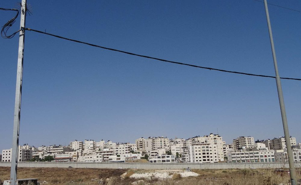 Jerusalem East | The wall at Jerusalem | photo sandrine cohen