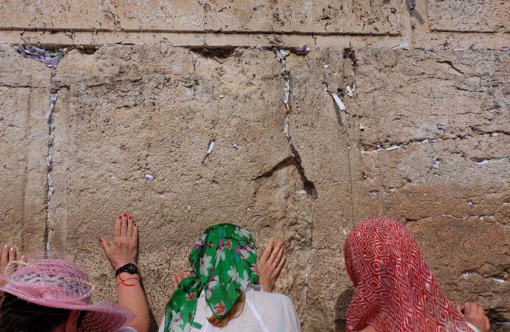 Jerusalem old city | The wailing wall for women | photo sandrine cohen