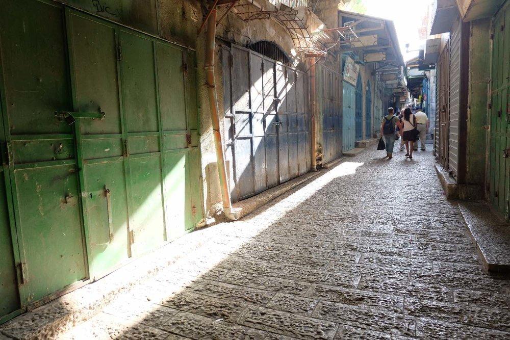 Jerusalem old city | Muslin aera on friday afternoon | photo sandrine cohen