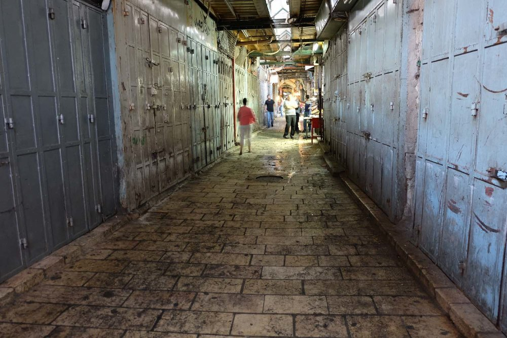 Jerusalem old city | Muslin aera on friday afternoon 3 | photo sandrine cohen