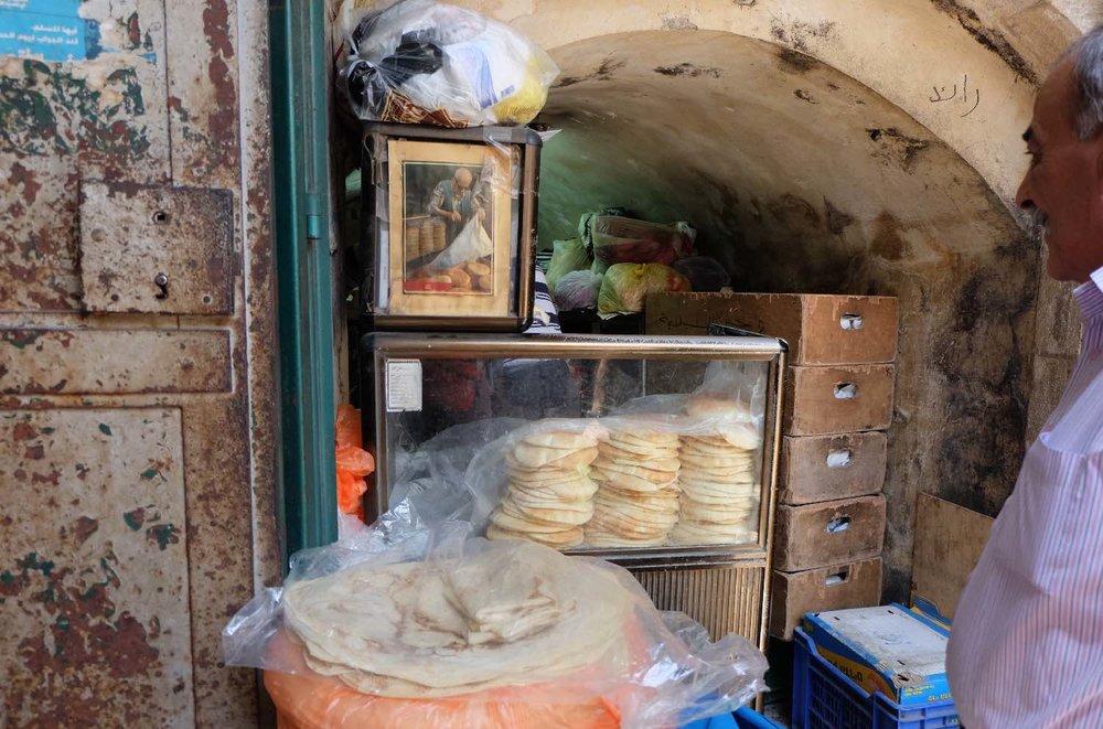 Jerusalem old city | Muslin aera | Palestinian bred | photo sandrine cohen