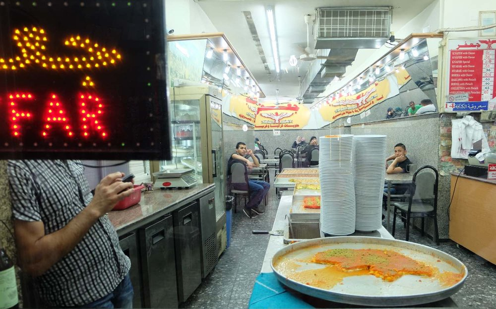 Jerusalem old city | Muslim restaurant | photo sandrine cohen