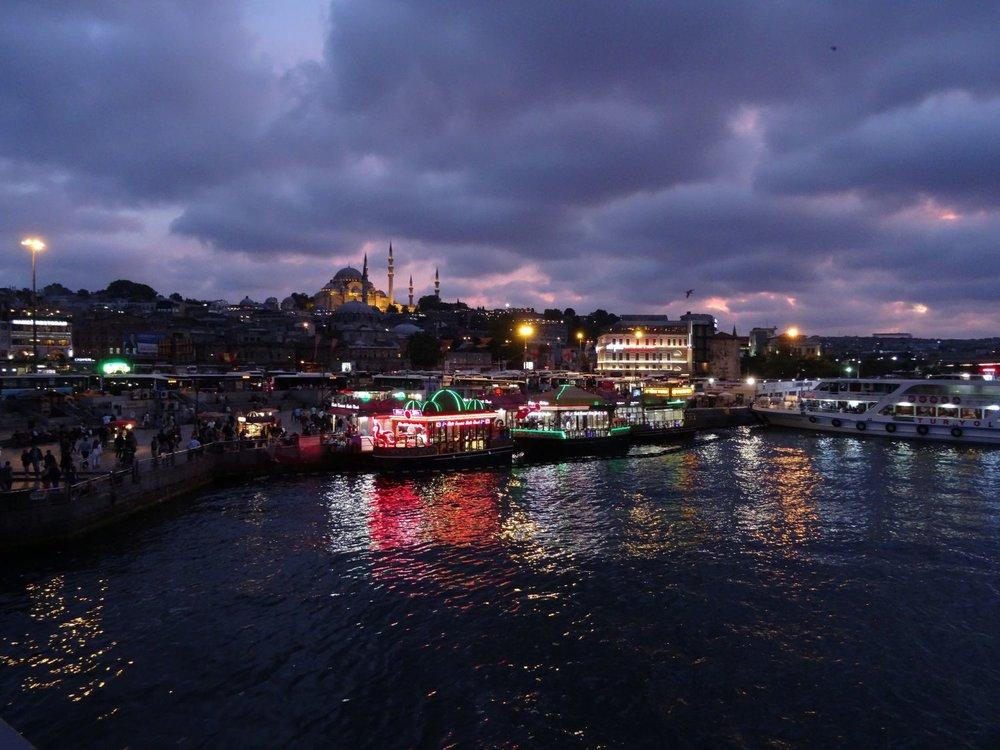 Istanbul | Bosphorus | Suleiman mosque | Turkey | photo sandrine cohen