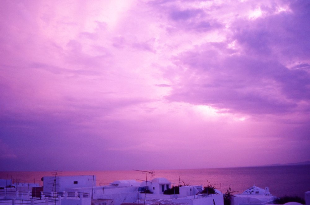 Hammamet | Tunisia | Sunset | Purple clouds | ©sandrine cohen