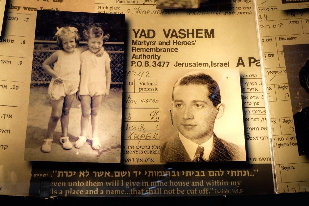 YAD VASHEM - Jerusalem