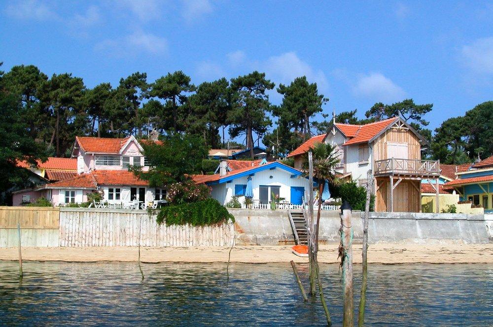 Bassin d'Arcachon | L'Herbe | Le Canon | Maisons et cabanes ostréicoles | Oyster houses and cabins | photo sandrine cohen