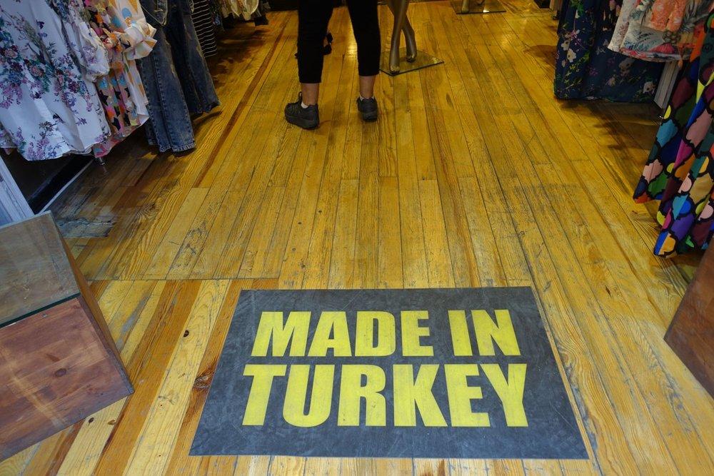Istanbul | Fashion shop | Made in Turkey | Istikhal street | ©sandrine cohen
