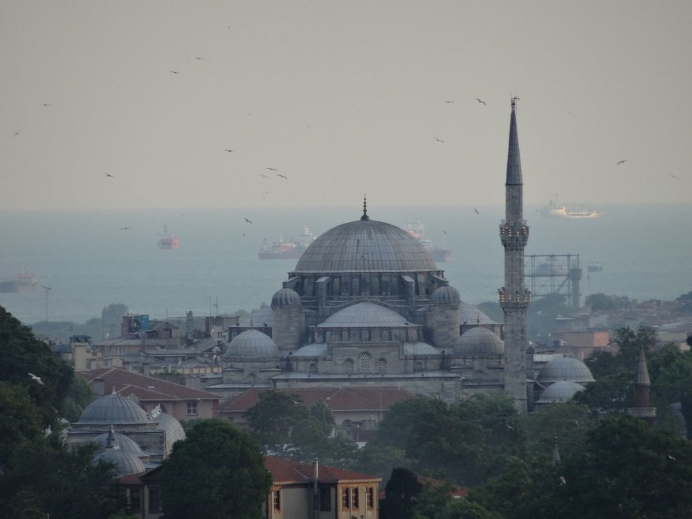 Istanbul | Turkey | Blue Mosque | Marmara sea | Boats on Marmara sea |©sandrine cohen