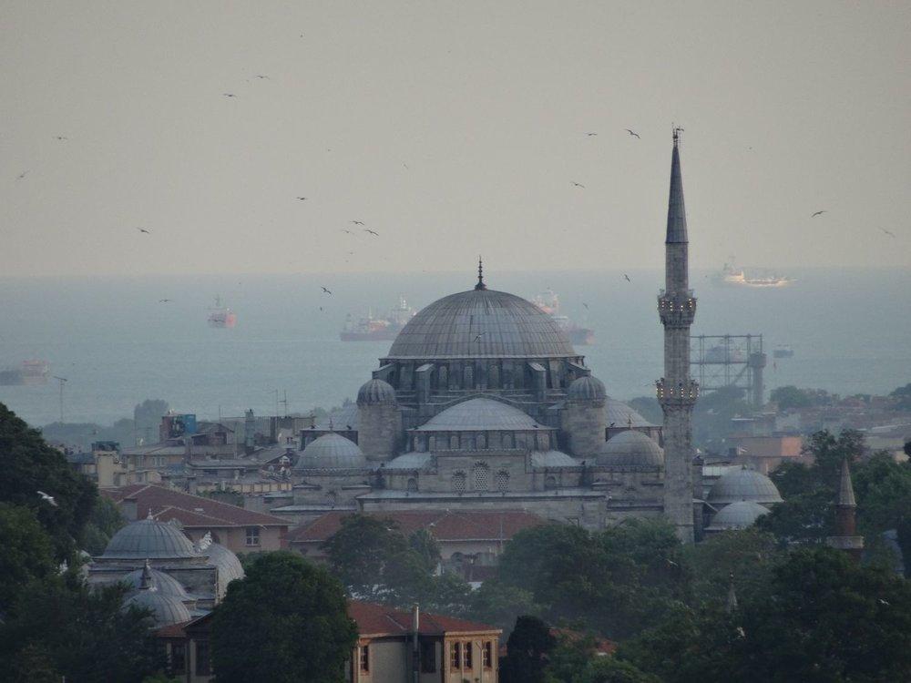 Istanbul | Turkey | Blue Mosque | Marmara sea | Boats on Marmara sea |©sandrine cohen