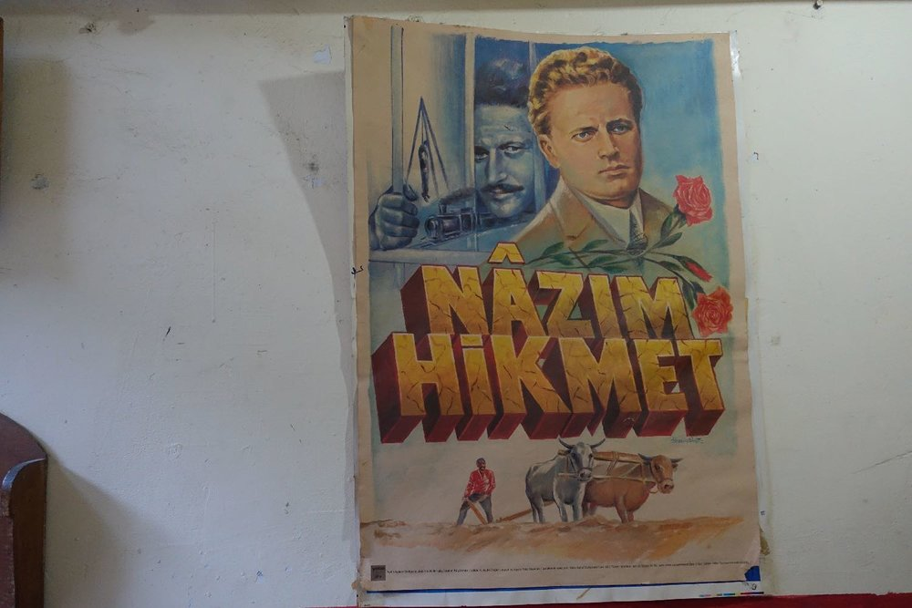 Istanbul | Turkish movie | Nazim Hikmet | Turkish movie poster | ©sandrine cohen