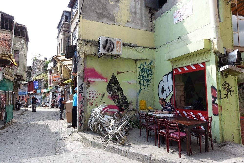 Istanbul | Green house | Beyoglu district |©sandrine cohen