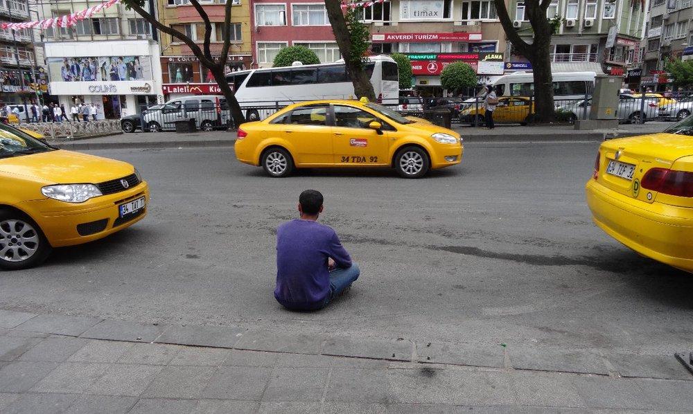 Istanbul | istanbul taxis | Taski istanbul | ©sandrine cohen