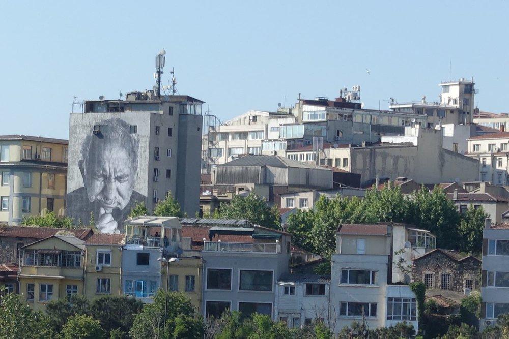 Istanbul | Beyoglu | JR street art artist  | ©sandrine cohen