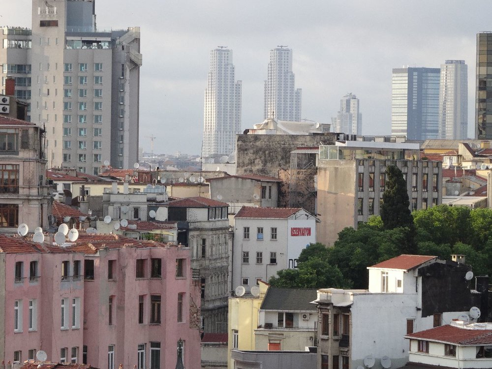Istanbul | New skyscrappers and buildings | Beyoglu and Silsi districts |©sandrine cohen