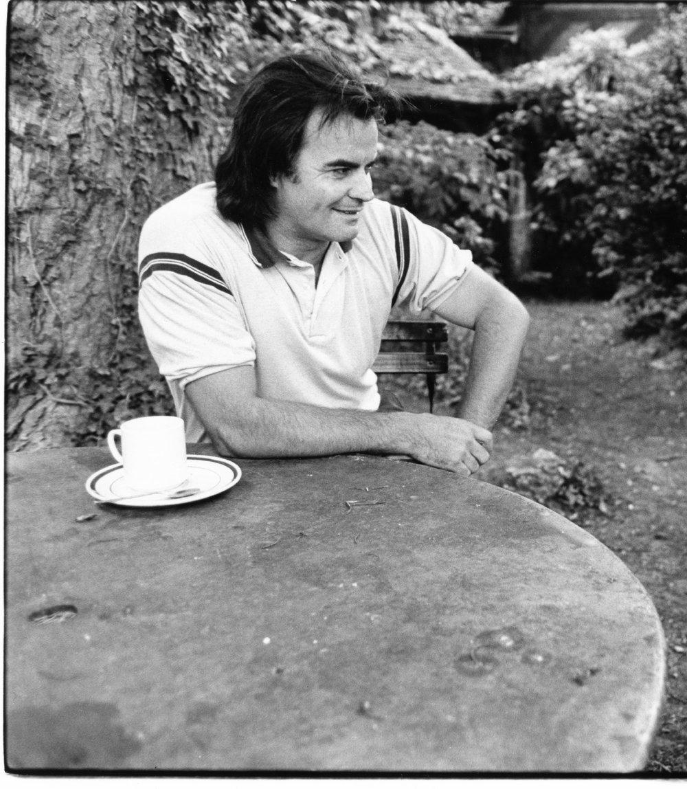 Jean-Claude Drouot - 1984 | Dans sa propriété à Evry sur Seine, près de Paris | Photo sandrine cohen
