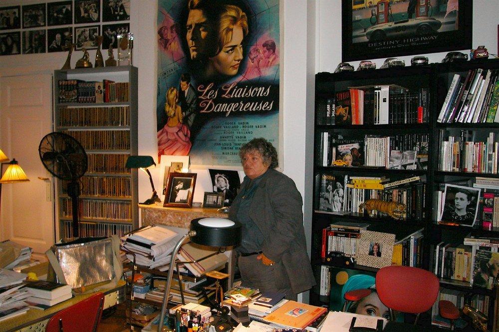 Josée Dayan réalisatrice 2003 | La Rivière Espérance, les Rois Maudits, Le Comte de Monte Cristo, Capitaine Marleau | Photosandrine cohen