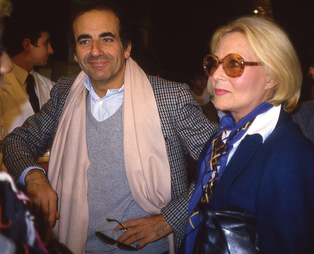 Jean-Pierre Elkabbach | Michèle Morgan | Lancement de Canal+ le 4 novembre 1984 | Photo sandrine cohen