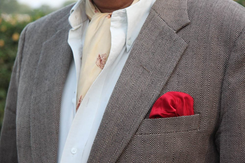 Royal family | Man with tie | Jaipur Polo Club | Rambagh Polo club | Jaipur | India | Photo sandrine cohen