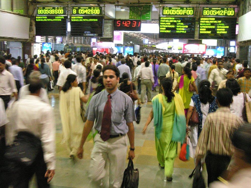 Mumbai - Bombay | Churchgate railways station in Mumbai | ©sandrine cohen