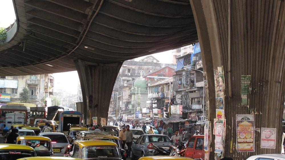 Mumbai - Bombay | Traffic on MS Ali road | MS Ali rd | ©sandrine cohen
