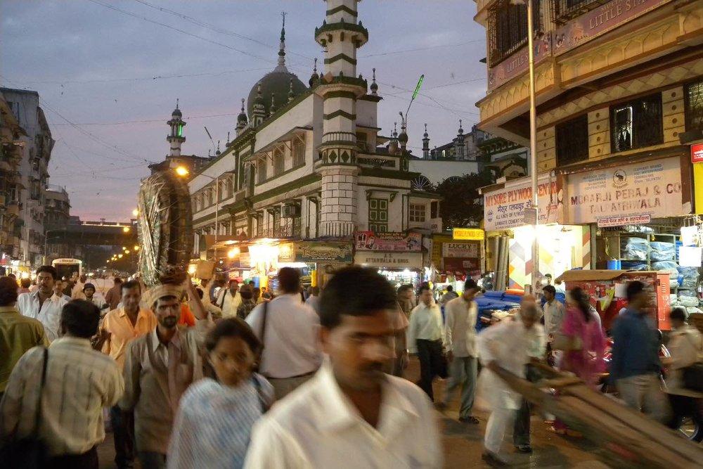 Mumbai - Bombay | Masjik mosque | Masjik district | ©sandrine cohen