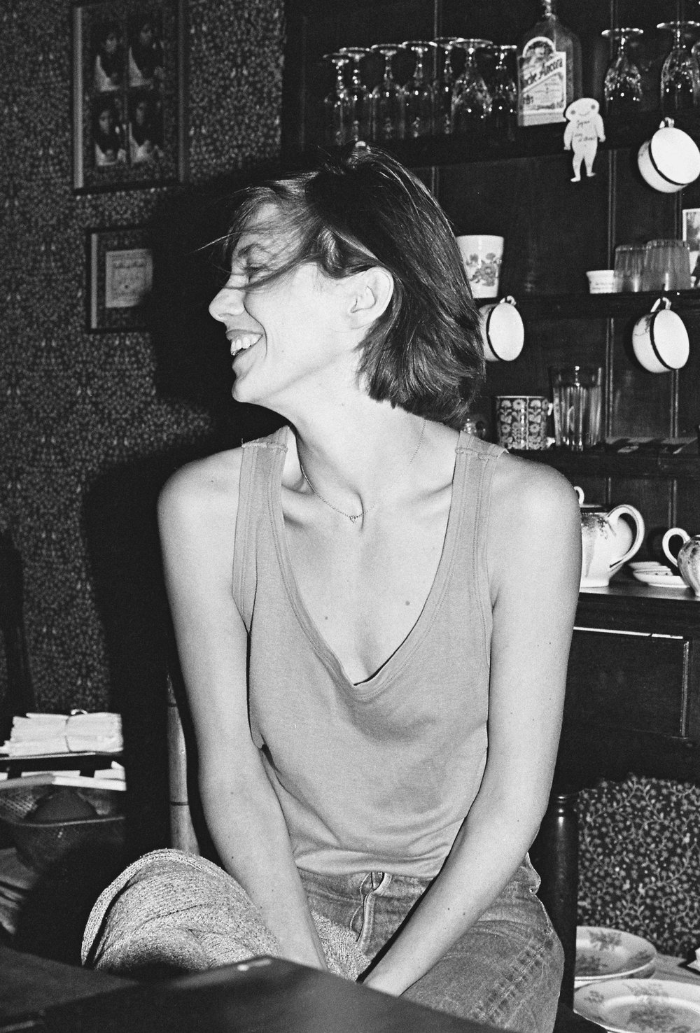 Jane Birkin   Paris 1983   ©sandrine cohen