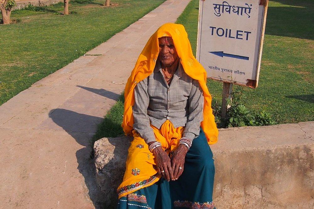 Toilets | Baori Abhaneri | Rajasthan | photo sandrine cohen
