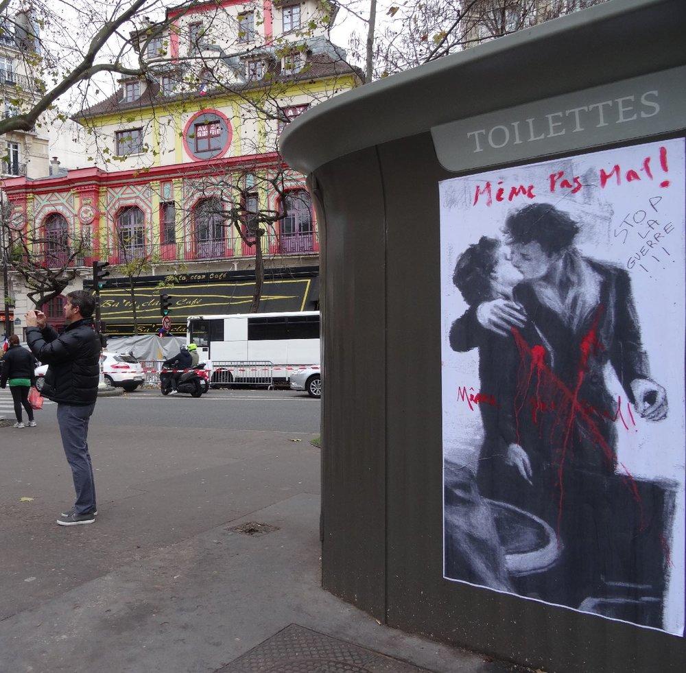 Toilettes Paris | Même pas peur | Le Bataclan | Paris 11e | Toilettes publiques | photo sandrine cohen