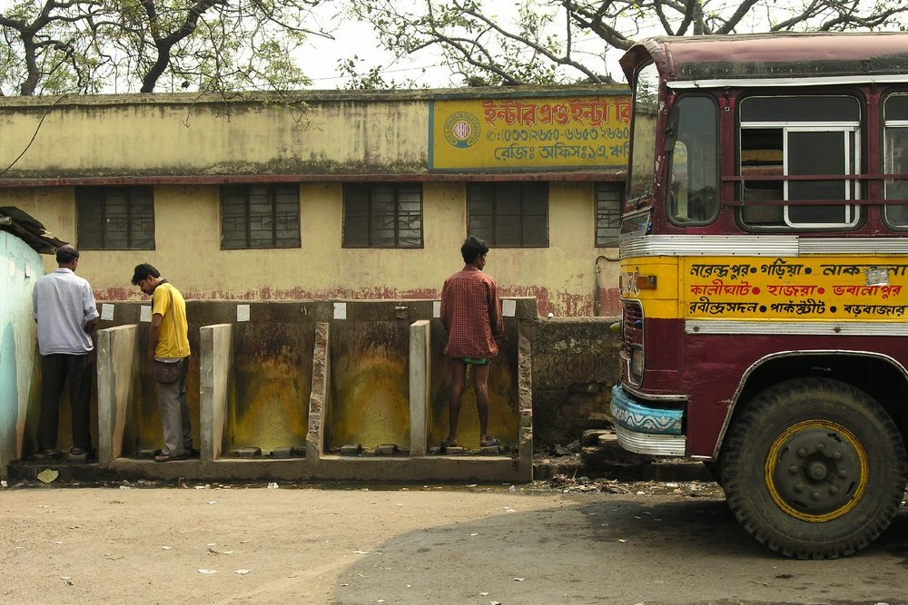Toilets WC Kolkota Calcutta | Howra station | India | photo sandrine cohen