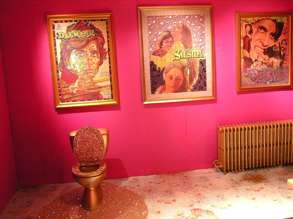 Toilets Bollywood | Bombaysers de Lille 2006 | photo sandrine cohen