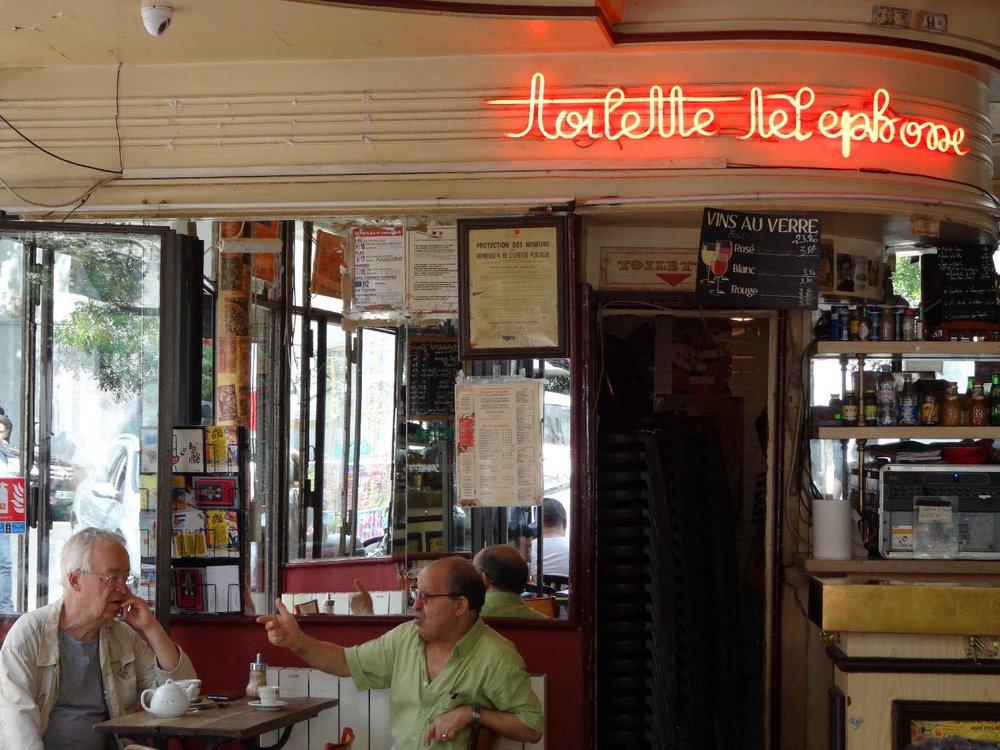 Toilettes Les Folies Belleville restaurant café | Les Folies Belleville | Belleville | Paris 19e | photo sandrine cohen