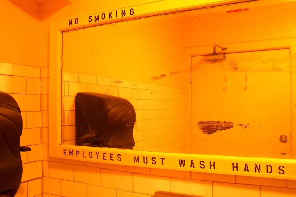 Toilets New York restaurant | New York | photo sandrine cohen