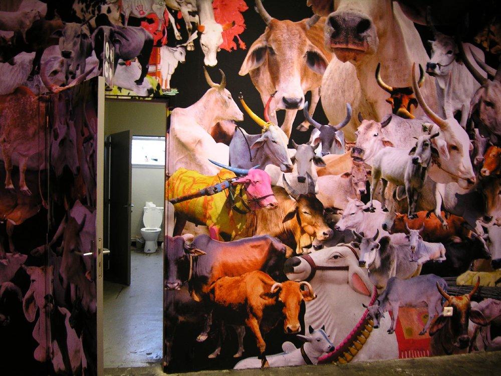 Toilets | Vaches sacrées | Bombaysers de Lille 2006 | photo sandrine cohen